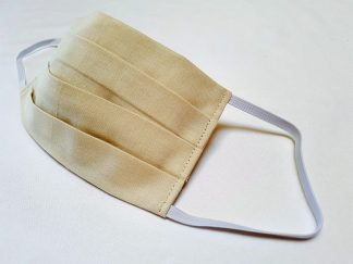 Stoffmaske-beige