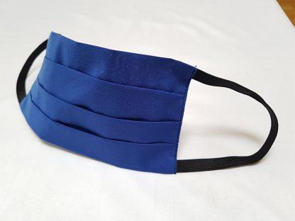 Stoffmaske-blau